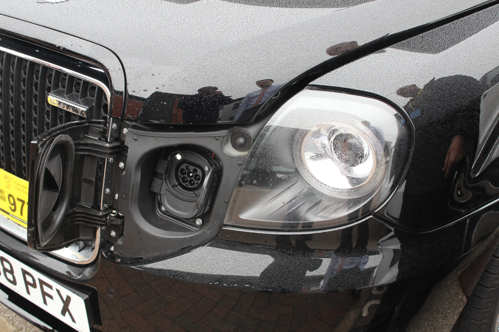 Electric Black Cab charging point