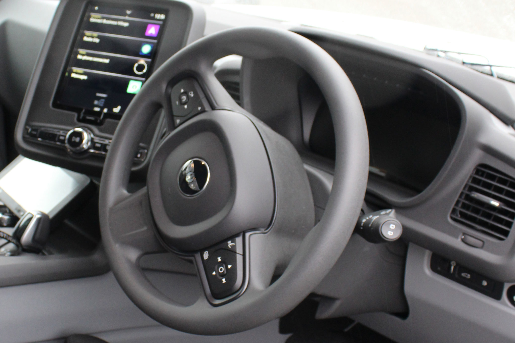 Electric Black Cab front console